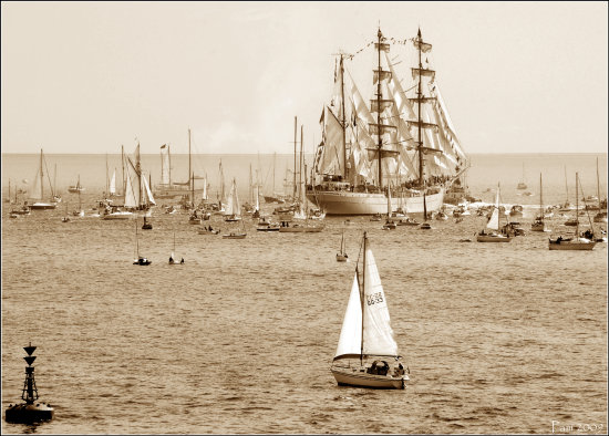 boat falmouth tall ships event