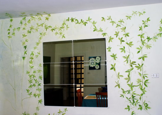 Mirrors Wall painting Reflection