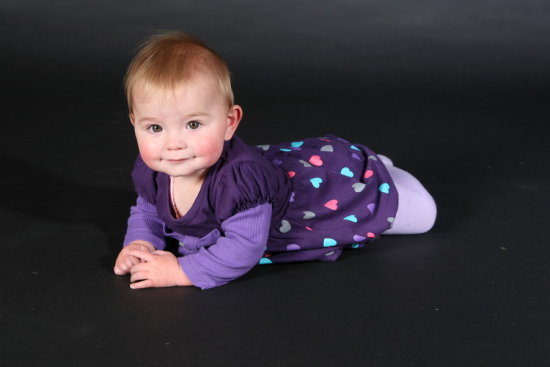 Rylee in a recent play with my studio lights
