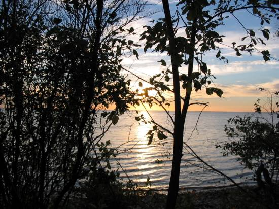 sunset lake winnipeg