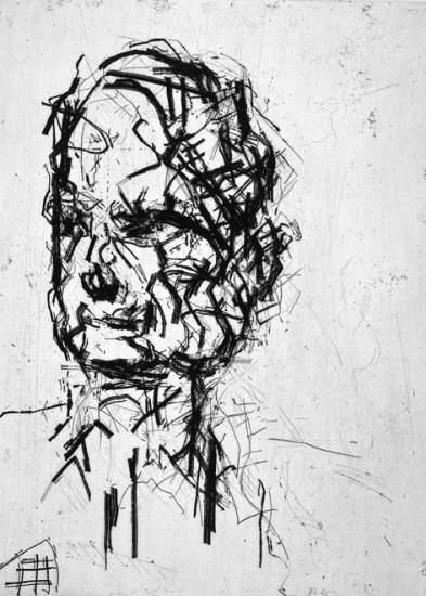 frank auerbach ets art graphics brussels belgium contemporary gallery