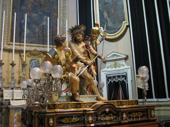 good friday holy week passion of christ zejtun malta statue