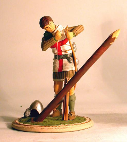 90mm Figure * 14th Century English Archer