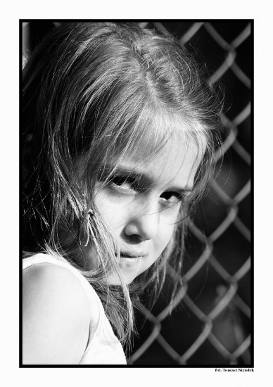 girl niziolek poland polish bw