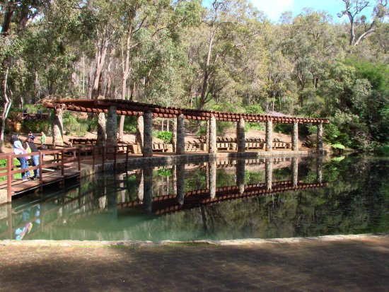 reflectionthursday entry plaza araluen botanic park perth wa littleollie