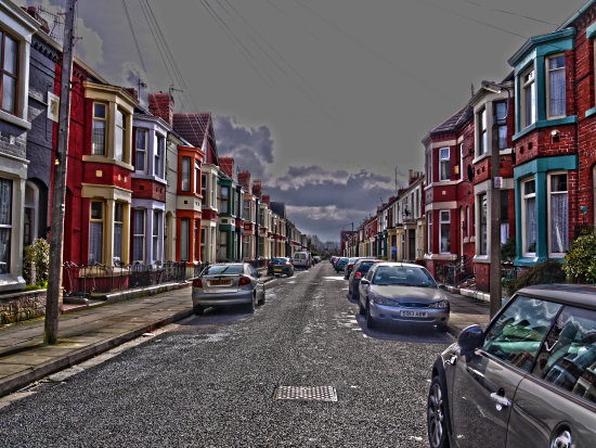 liverpool street HDR terracedhouses