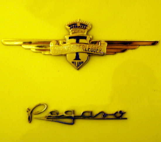 car automobile badge touring GT 1950 50s