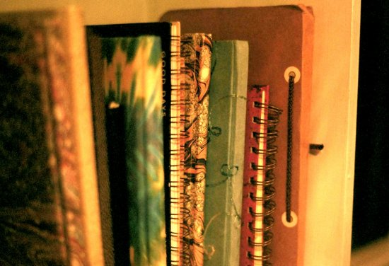 journals poetry books bookshelf shelf