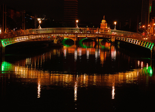 HaPenny Bridge Dublin Ireland