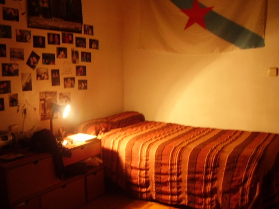 my bedroom.