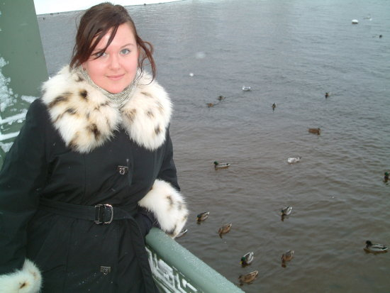 near Piter and Paul Fortress