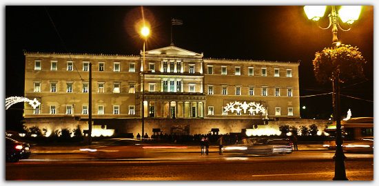 the Greek Parliament view in full size pls