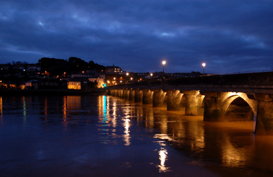 bideford long bridge medieval devon reflectionthursday
