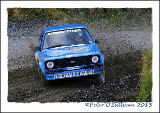 Rally Limerick Forestry Ireland Ford Escort MkII