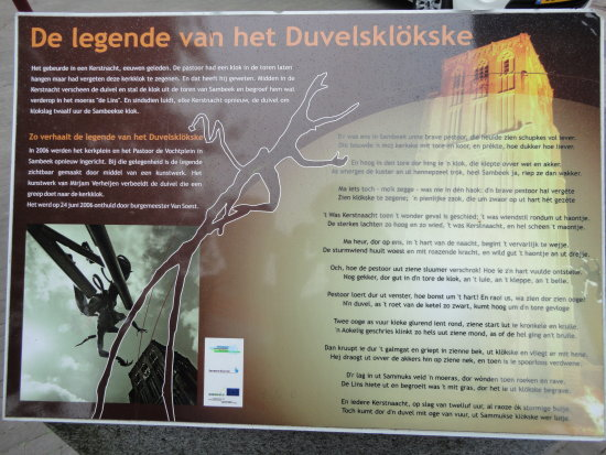 legend of the devil in Sambeek Holland