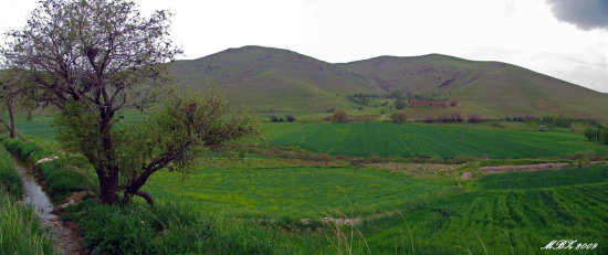 iran lorestan nature spring