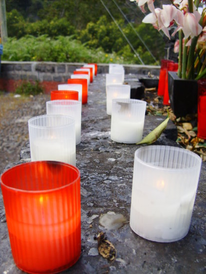 2010 portugal madeira faial views village sanctuary viewpoint candles