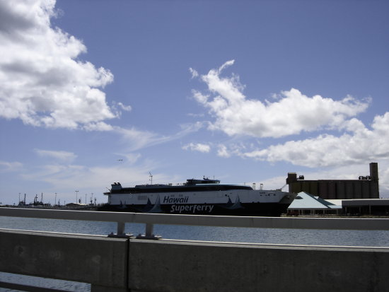Hawaii Superferry ship