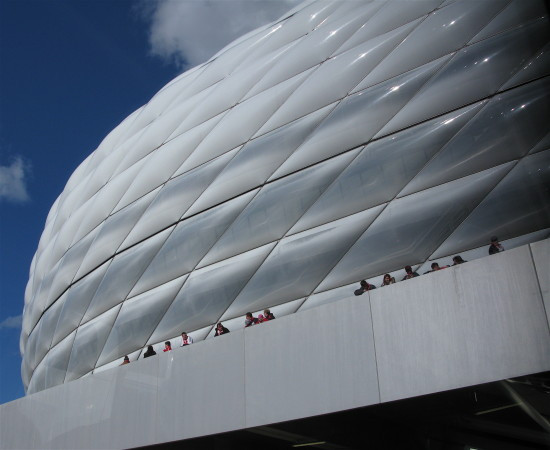 football stadium allianz arena