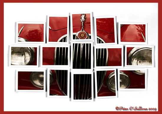Jaguar MK10 Red Car InspectorMorse PeterOSullivan