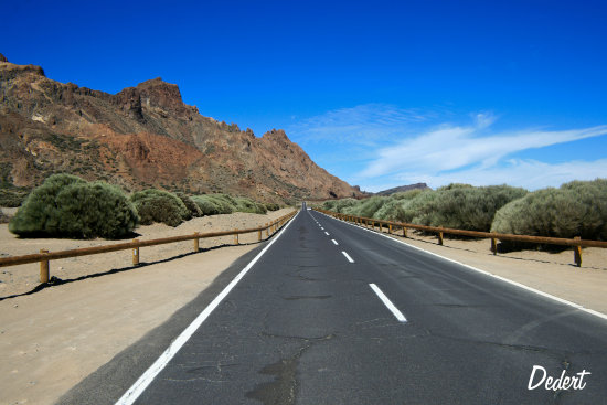 Route Tenerife Dedert Road Nature Vacation