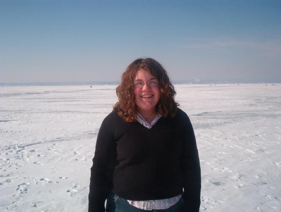 ummm... this would be a really bad picture of me... IN THE MIDDLE OF LAKE CHAMPLAIN!!!