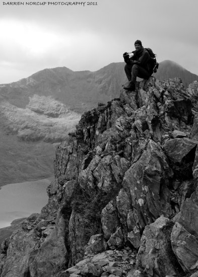 on the crib goch
