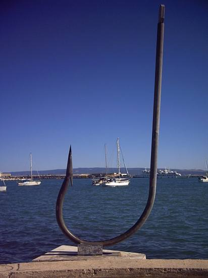 Big fishhook, Split, Croatia