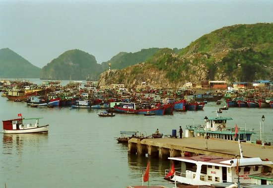 vietnam halong water boat harbour vietx halox watev boatv harbv viewv