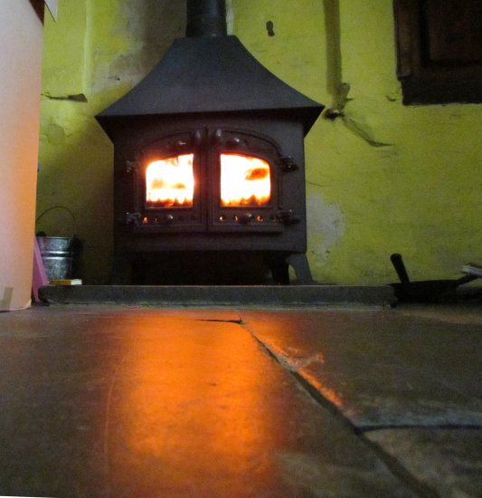 wales fireplace summer