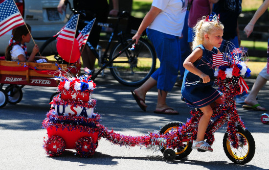 Georgetown texas parade fourth july