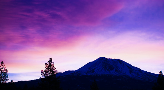 Mt Mount Mountain Shasta California Siskiyou County Canon 450D XSI Snow Sunrise