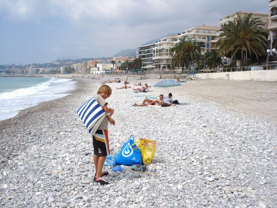 menton france beach montello