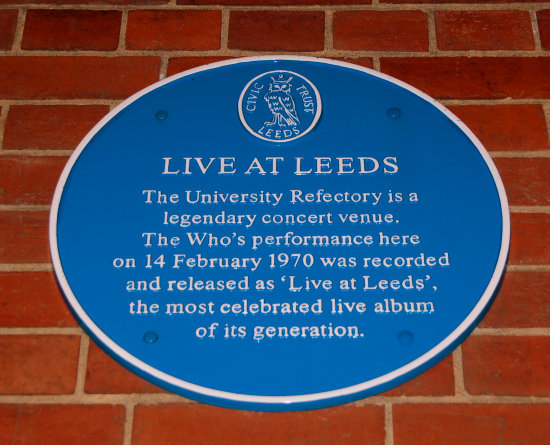 rock history the who leeds