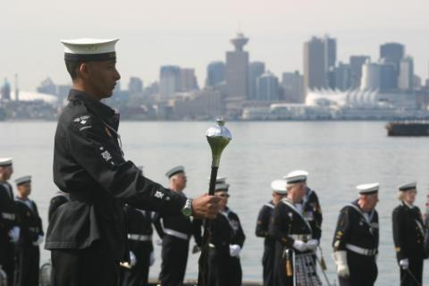 military navy vancouver ceremony