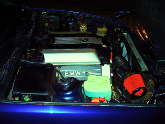 My BMW V8 is addicted to Kerosene
