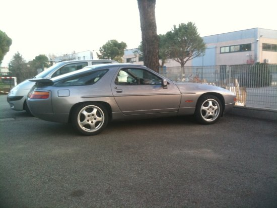 My 928S4...with winter tires