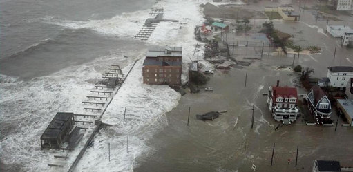 Sharing a photo from the news.  My home state of NJ was hit very hard in the storm.  So many peop...