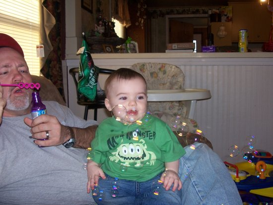 bubbles and baby