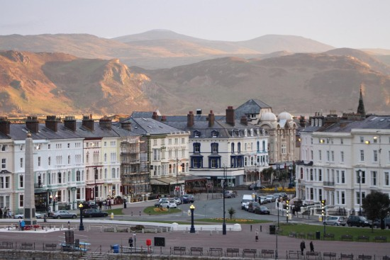eveninglight landscape llandudno wales architecture buildingsfriday