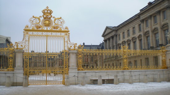 versailles chateau fence