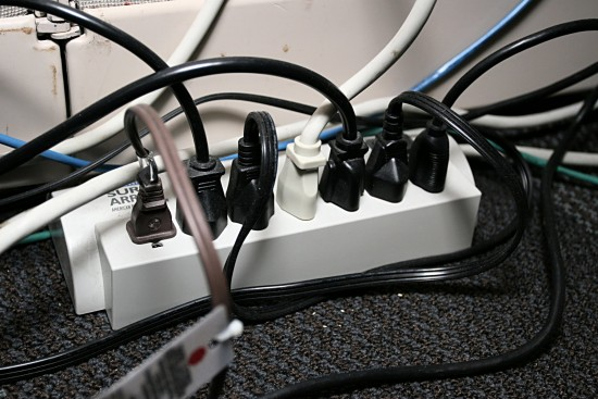 cord cords electrical power strip surge
