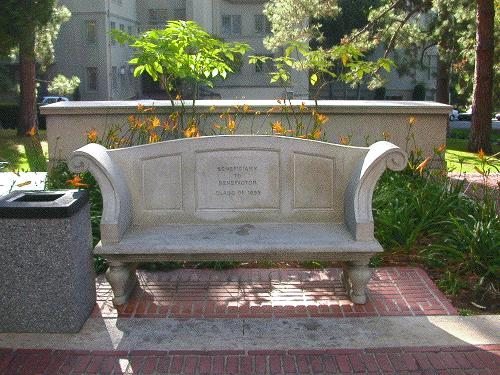 bench berkeley UC UCB ucbfph