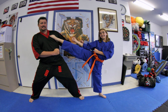 orange belt karate