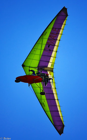 Powered hang glider Archer
