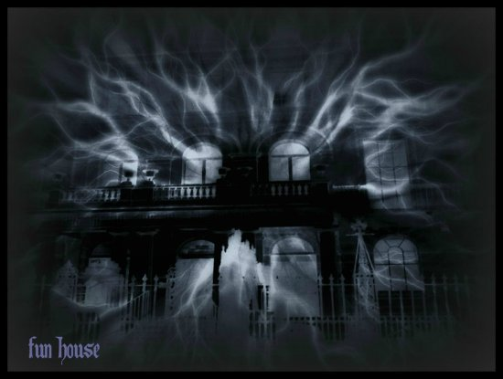 creepy house digitalartclub