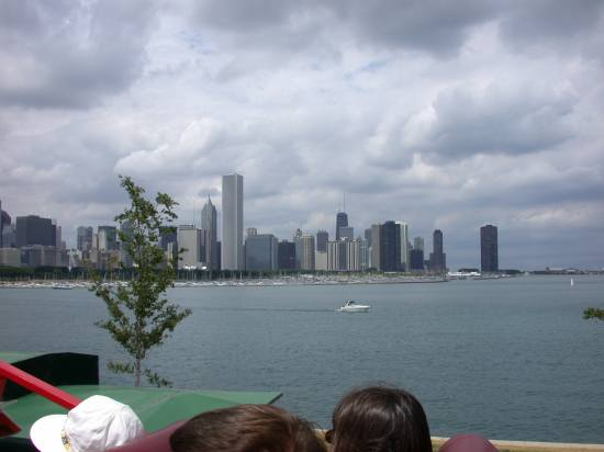 Another view of the magnificent Chicago skyline