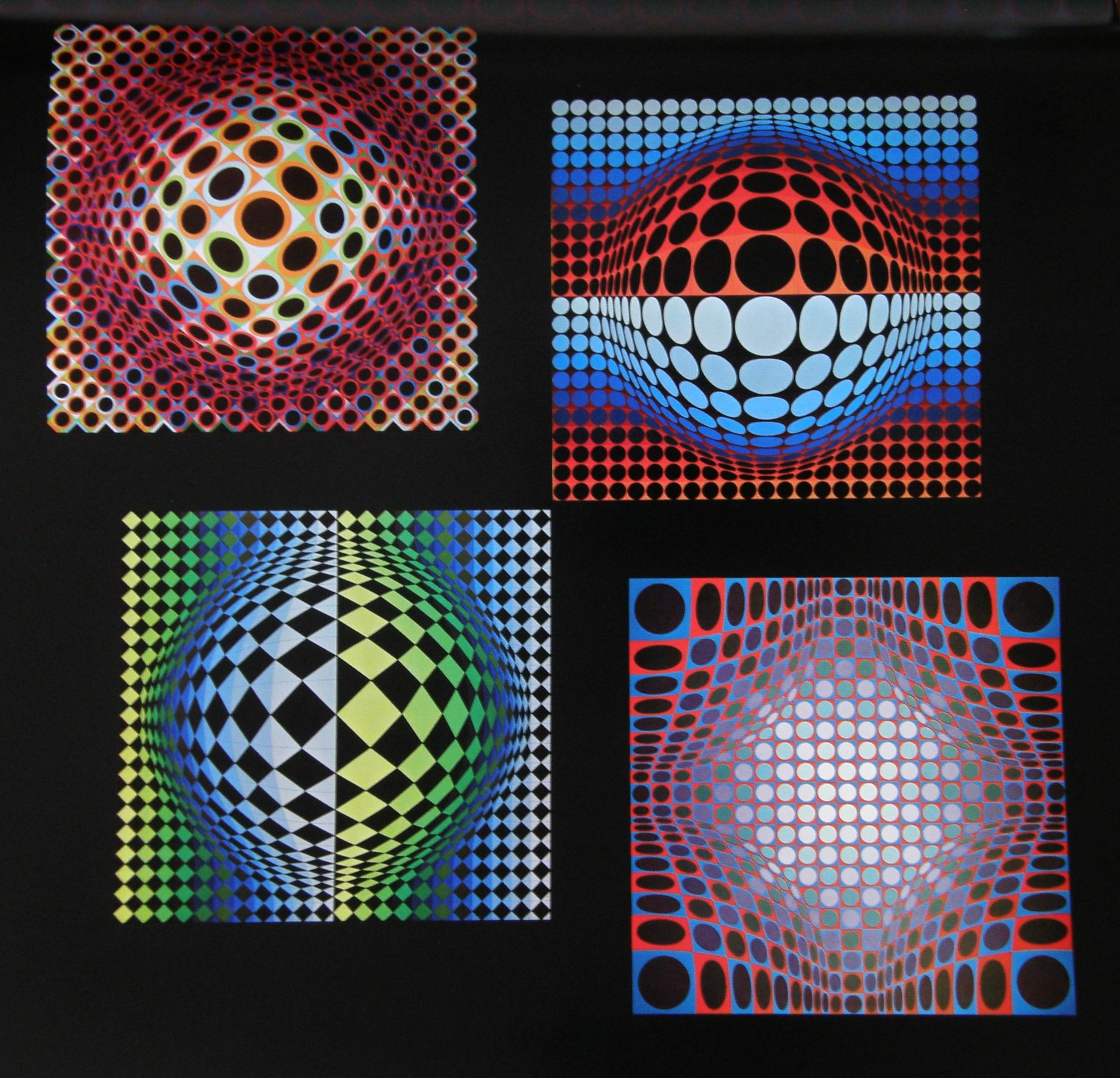Biography of victor vasarely |work by victor vasarely ...