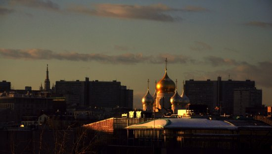 Moscow sunset cityscape sunriseclub