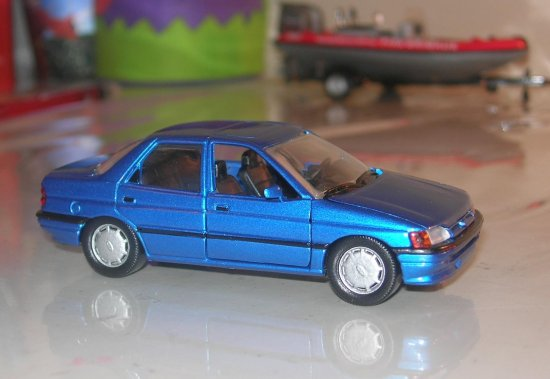 ford escort schaback orion 143 scale model car